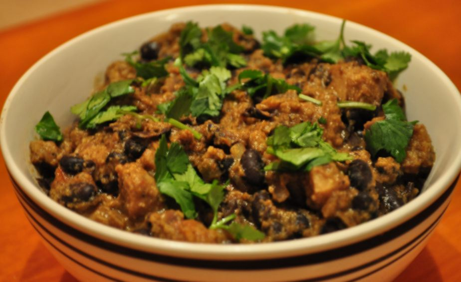 Black Beans Soya Curry Ramblings N Recipes